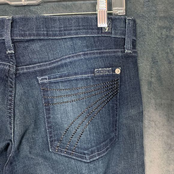 7 For All Mankind Denim - Seven 7 For All Mankind Dojo Bling Jeans 29